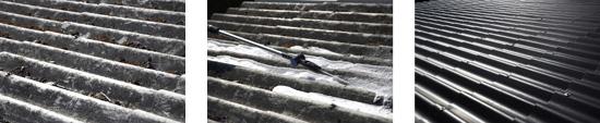 3 trin i rengøringen med Nilfisk Roof Cleaner