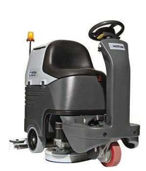 SCRUBBER BR752 W/BAT.CHARGER UK