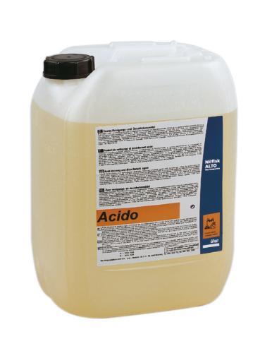 NILFISK-ALTO ACIDO 4 X 2.5 L
