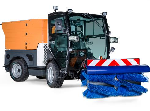 SNOW SWEEPER CENTRAL DRIVEN FKM 1310