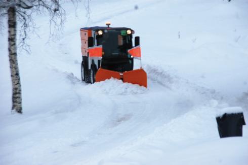 SNOW V-BLADE JOYSTICK FKP 1310