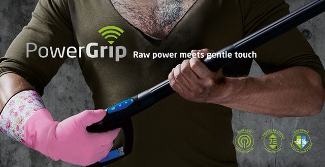 PowerGrip - det hele ligger i grebet!