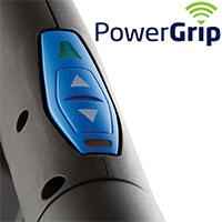 PowerGrip betjening