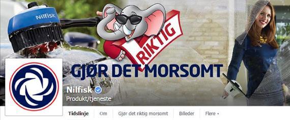 Nilfisk facebook