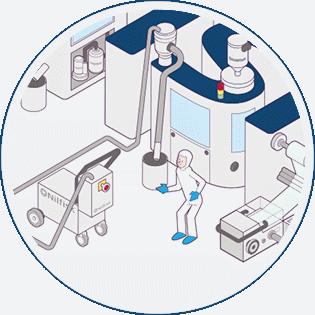 Convoyeur Pneumatique Nilfisk - efficacité et automatisation
